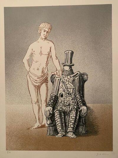 Giorgio de Chirico, ' Il riposo dell'archeologo (Seconda versione)', 1972