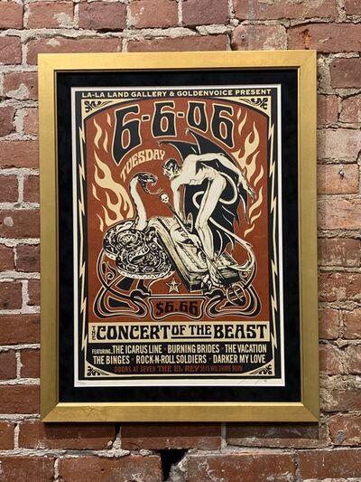 Shepard Fairey, 'Concert of the Beast', 2006