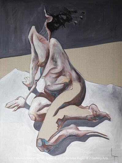 Jerome Rapin, 'Femme Dans Chambre Grise 4', 2019