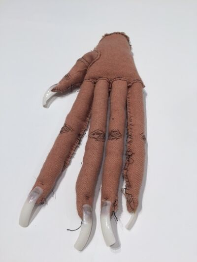 Narcissister, 'Soft Sculpture 1 (long fingers, left hand)', 2005-2016