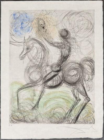 Salvador Dalí, 'Cavalier et la Mort', 1969-1970