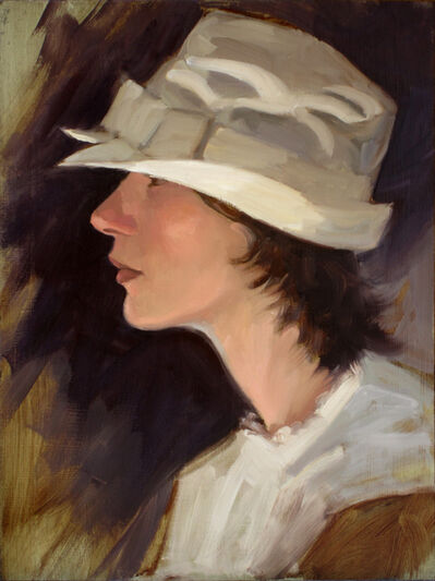 "Paul Schulenburg, '""White Hat""', 2019"