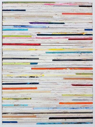 Tim Hahn, 'Lathe Painting #11', 2018