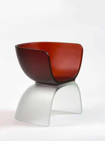 Marc Newson, 'Dark Orange Glass Chair', 2017