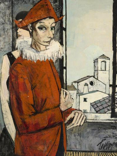 Charles Levier, 'Saltimbanque et sa Femme'