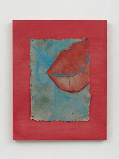 Lena Henke, 'Leaking Lips I', 2014