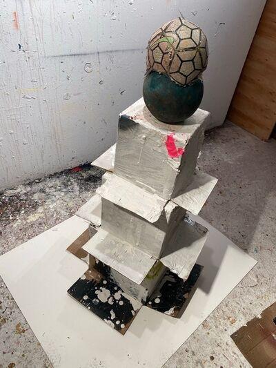 Dennis Dawson, 'Anxious Object (Box and Ball)', 2020/21