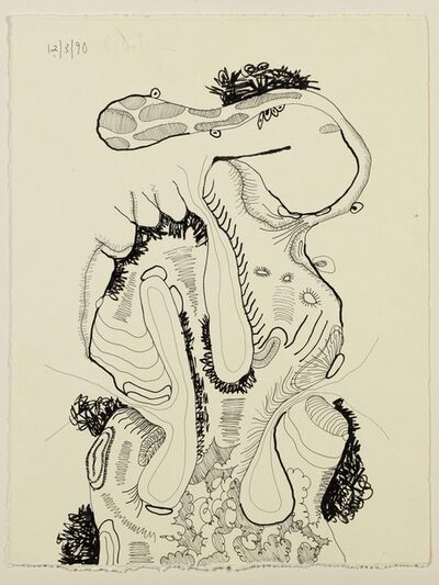 Carroll Dunham, 'Untitled (12.3.90)', 1990