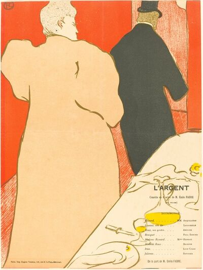 Henri de Toulouse-Lautrec, 'L'Argent', 1895