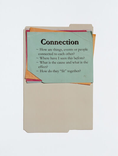 Anne Collier, 'Questions (Connection)', 2011