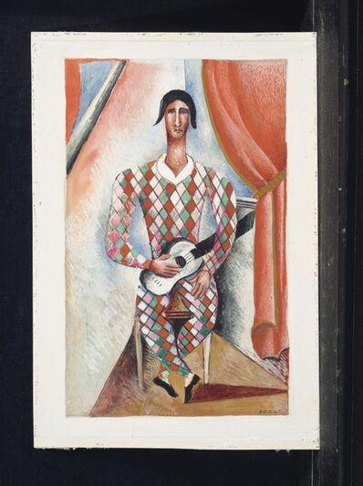 Serge Férat, 'Arlequin à la guitare', ca. 1924-1926
