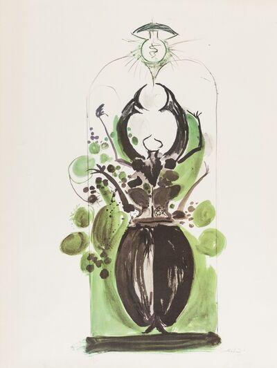 Graham Sutherland, 'Coléoptère avec ampoule électrique (Tassi p.222)', 1969