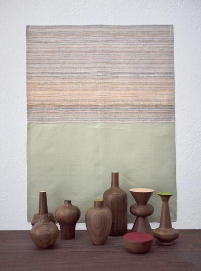 "Edgar Orlaineta, 'With Hidden Nature ""Pistache""', 2018"