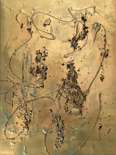 donna e perkins, 'Frenzied Exuberance II', 2018