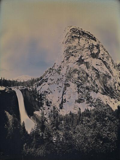 Binh Danh, 'Nevada Fall and Liberty Cap, Yosemite, CA', 2017