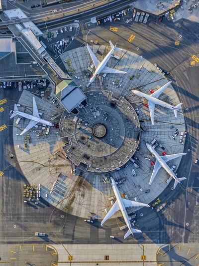 Jeffrey Milstein, 'Newark Airport Terminal B', 2017