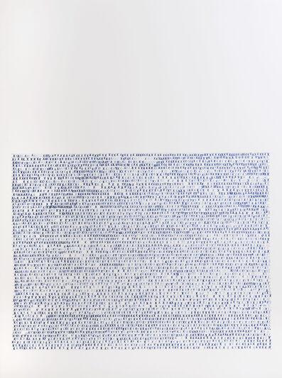 Sarah Irvin, 'X Stamp, No. 1', 2019