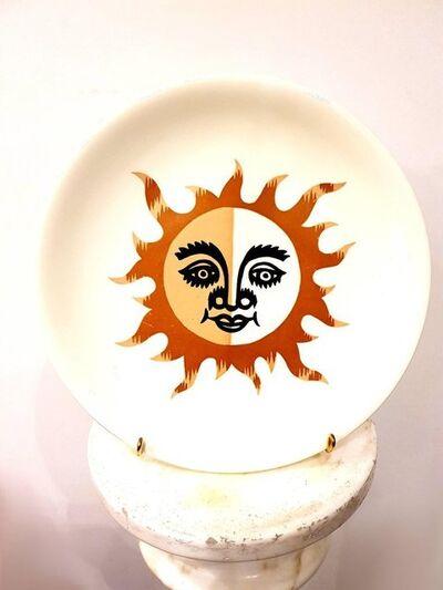 """Picart le Doux, 'Plate Salin """"Sun"""" by Jean Picart Le Doux', 1960s"""