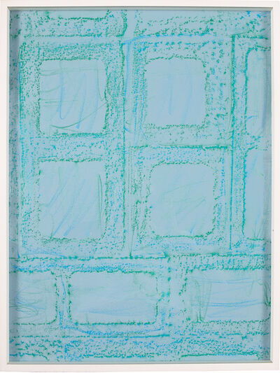 Sam Falls, 'Untitled (Block Rubbing 20)', 2012
