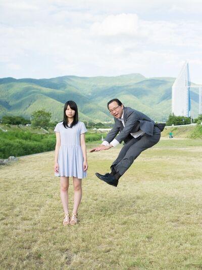 Yuki Aoyama, 'Solaryman and his daughter #1 in Kumamoto', 2016
