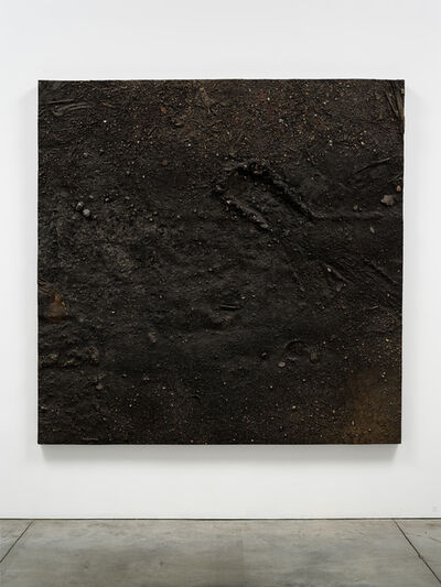 Boyle Family, 'Study with Tyretrack and Mudcracks, Lorrypark Series', 1974