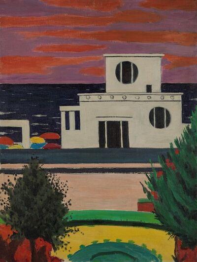 Pompeo Borra, 'Paesaggio (Arma di Taggia)', 1958