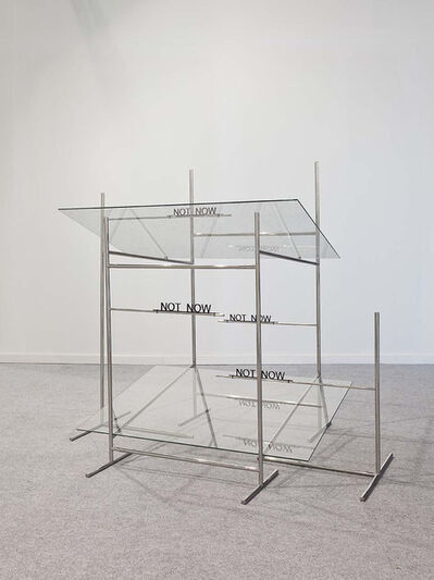 Waltercio Caldas, 'Not Now', 2014