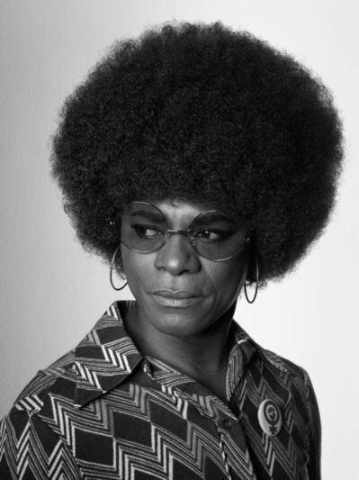 Samuel Fosso, 'Angela Davis', 2008