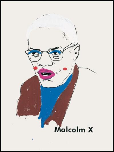 Glenn Ligon, 'Malcolm X (version 1) #1', 2000