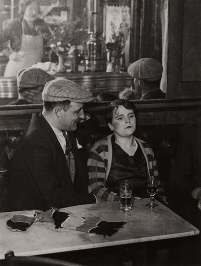 Brassaï, 'Couple in a Bistro', 1931-printed later