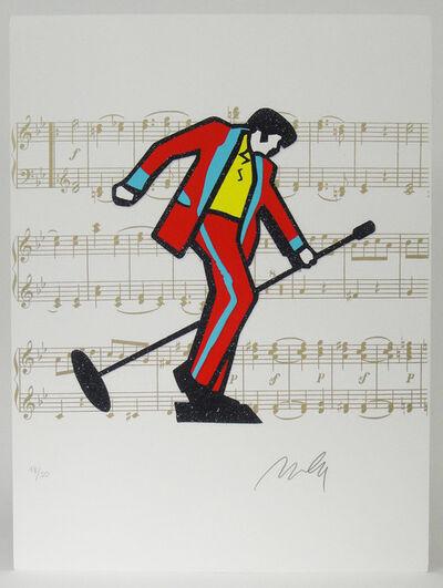 Marco Lodola, ' Elvis Presley', 2000