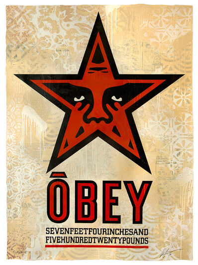 Shepard Fairey, 'OBEY Star ', 2019