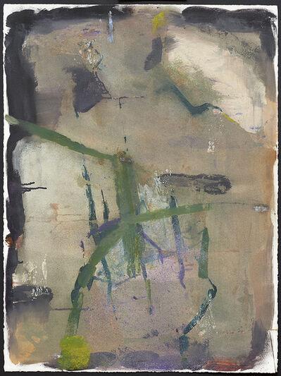 Roni Sherman Ramos, 'Grey and Green', 2017