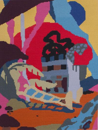 Antwan Horfee, 'Embroidery 2', 2015