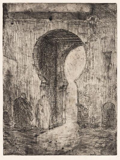 Henry Ossawa Tanner, 'Gate of Tangier', circa 1910