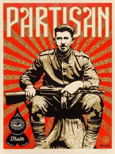 Shepard Fairey, 'Partisan', 2013