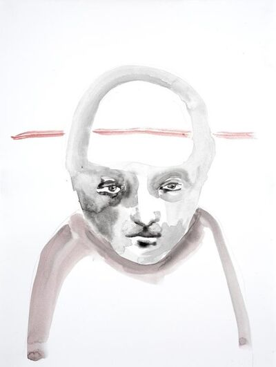 Paloma Varga Weisz, 'Untitled (A Line Through my Head)', 2006