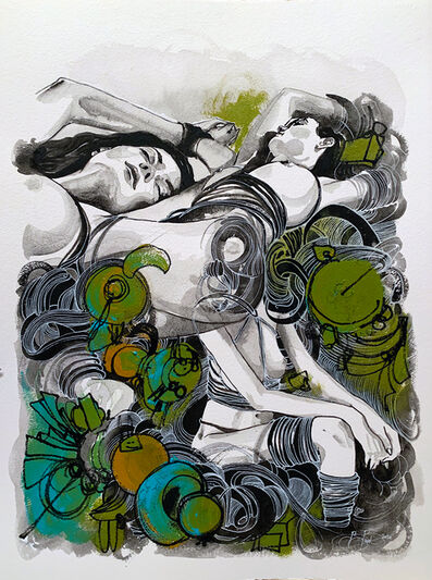 Brandon Boyd, 'Anna Lisa in Knots', 2020