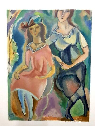 "Jules Pascin, 'Lithograph ""Feminity"" after Jules Pascin', 1965"