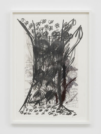 Oscar Murillo, '(untitled) poetics of flight', 2019
