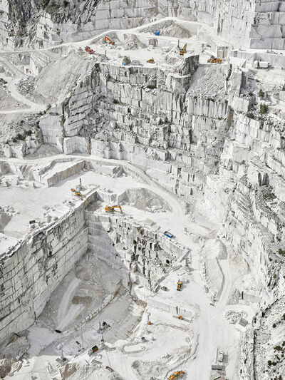 David Burdeny, 'Cava Bianco III, Carrara Italy', 2018