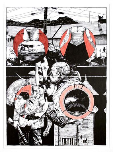 William Buchina, 'Lower than the Lowest Animal #5', 2014
