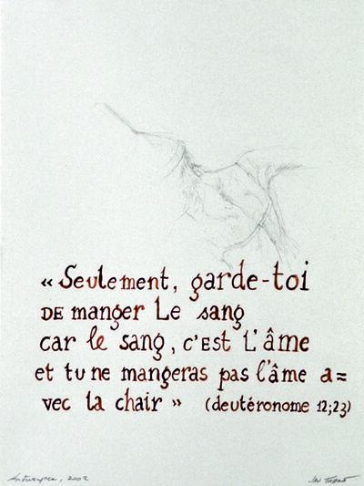 Jan Fabre, 'Seulement, garde-toi...', 2002