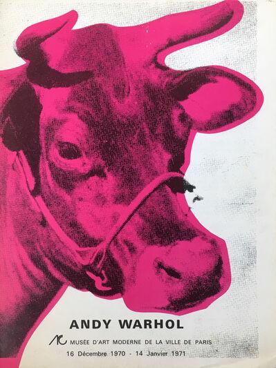 Andy Warhol, 'Andy Warhol Musee d'Art Moderne catalog (Warhol Cow)', 1970
