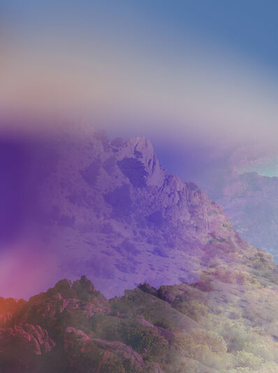 Terri Loewenthal, 'Psychscape 73 (Downs Mount, CA)', 2017