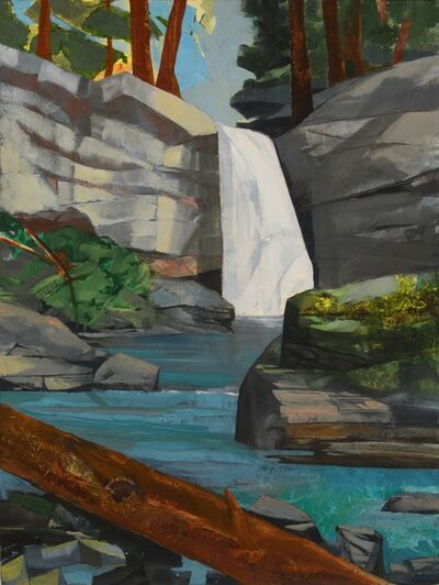 Mariella Bisson, 'Waterfall, Time and the Forest'