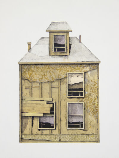 Seth Clark, 'House Portrait (yellow)', 2019