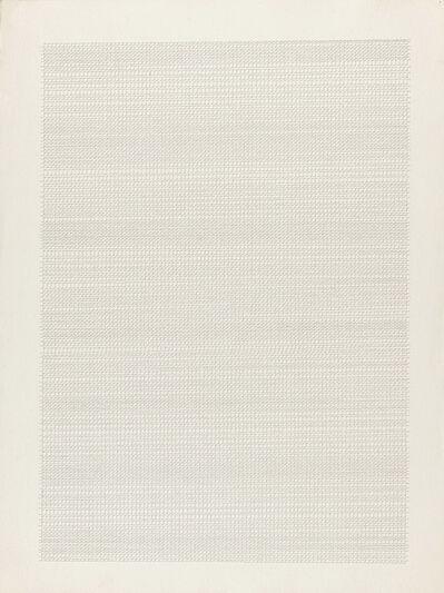 Dadamaino, 'L'alfabeto della mente, Lettera 11', 1978