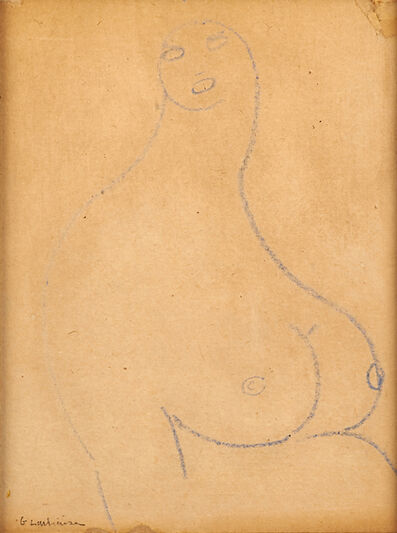 Gaston Lachaise, 'Untitled (Nude)'