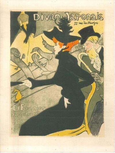 Henri de Toulouse-Lautrec, 'Divan Japonais (After H. de Toulouse-Lautrec', 1951